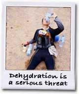 dehydration is a threat