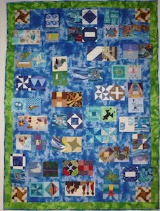 Sweet Water Quilt 2012