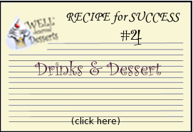 recipe card for Drinks and Desserts